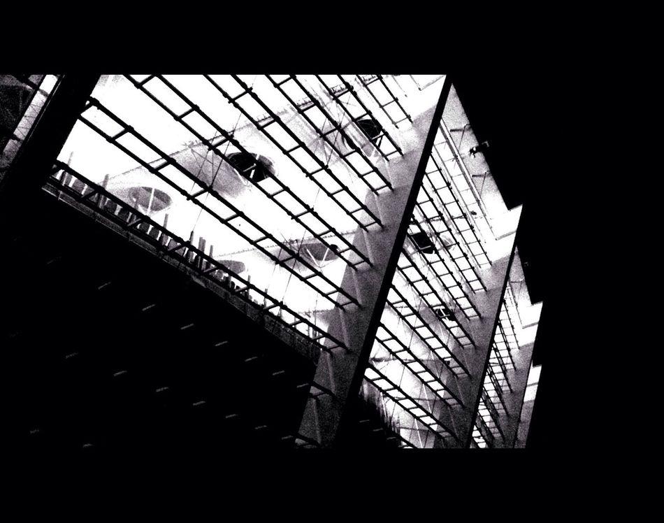 Nest. Blackandwhite Architecture 1.78:1 Kiev