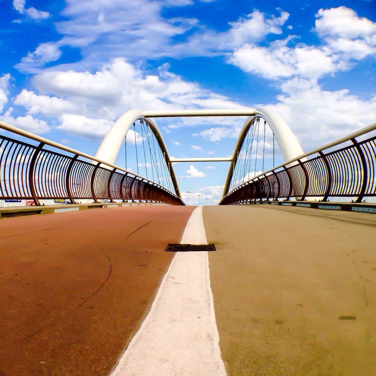 Beautiful stock photos of bridge, Architecture, Bridge, Built Structure, Cloud