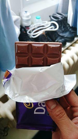 Cadbury love, my morale booster. An unhealthy choice though ? Enjoying Life Cadburys