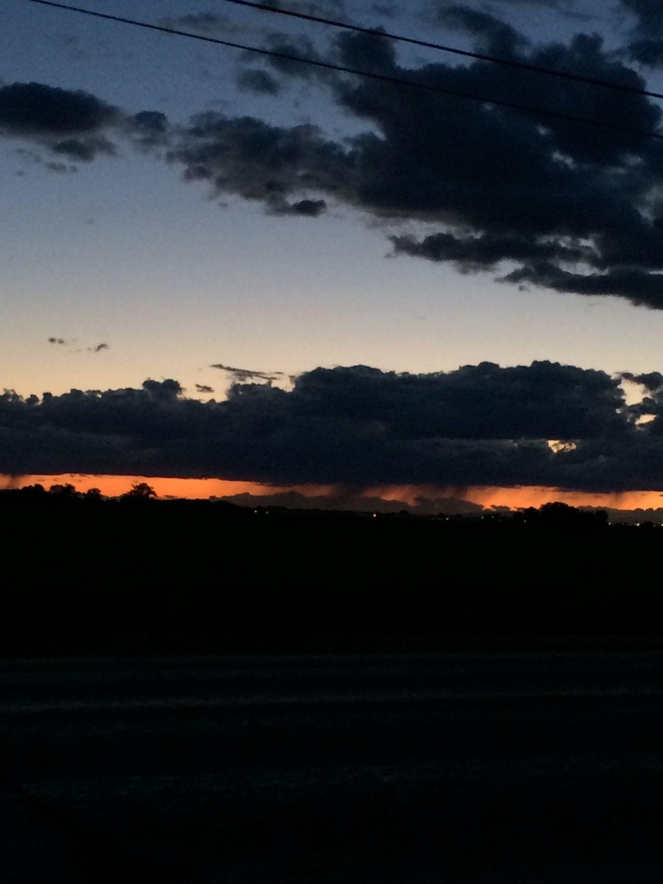 Beautiful Sunset Tonite God Is Great.