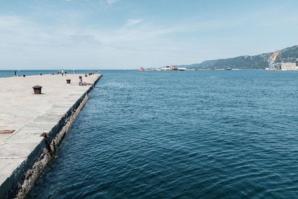 Cityscapes Italy Minimalism Sea Pivotal Ideas