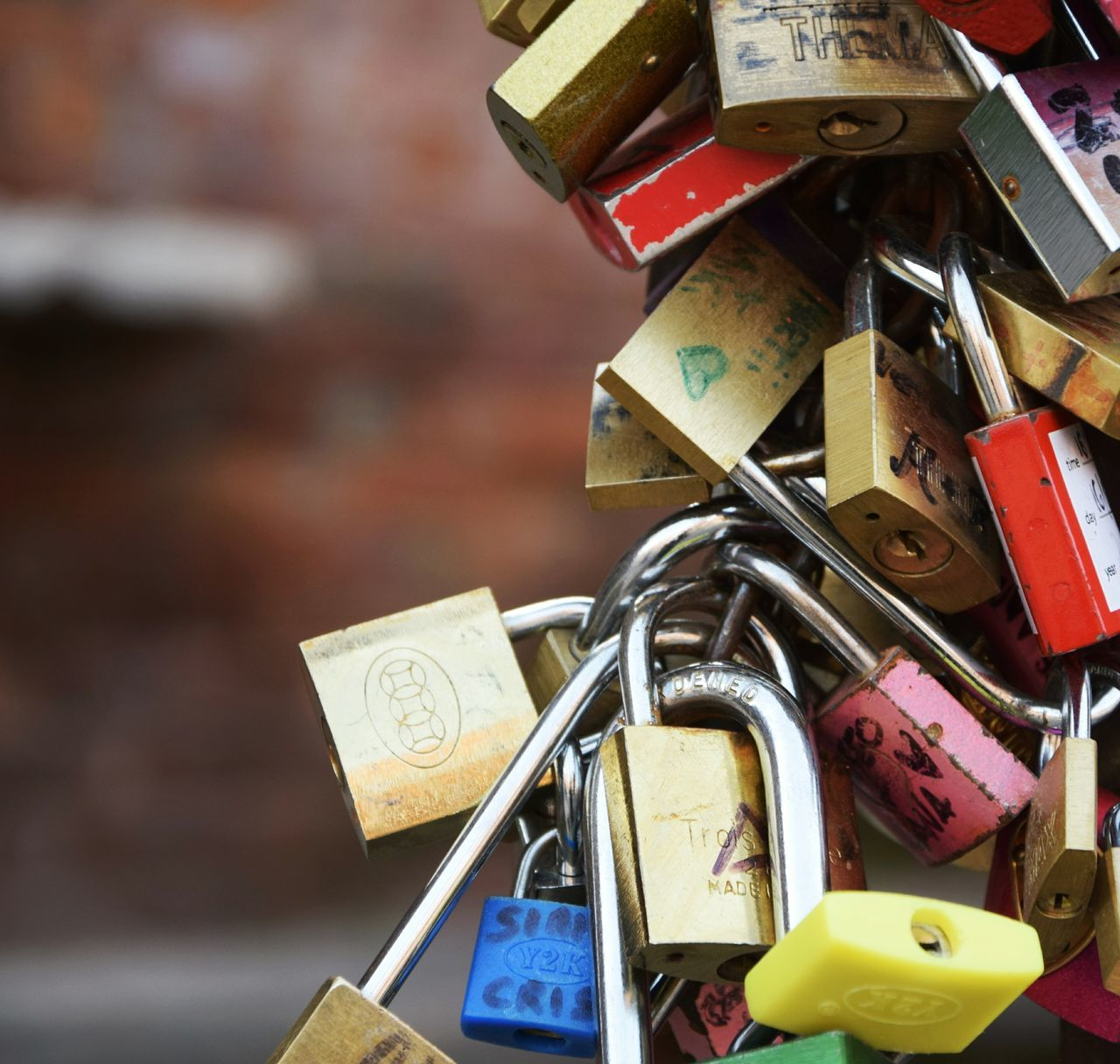I'llbe your forever ... Love Lock Love Lock Metal Close-up Verona Italy photography #photo #pic #picture Travel Photography Travel