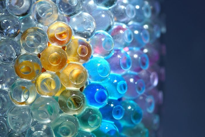 Multi Colored Large Group Of Objects No People Indoors  Close-up Day Glassball Waterdrops Glassballphotography Sphere Abstract Art Creativity Tadaa Community Hintergrundgestaltung Backgrounds Backcloth_MSB