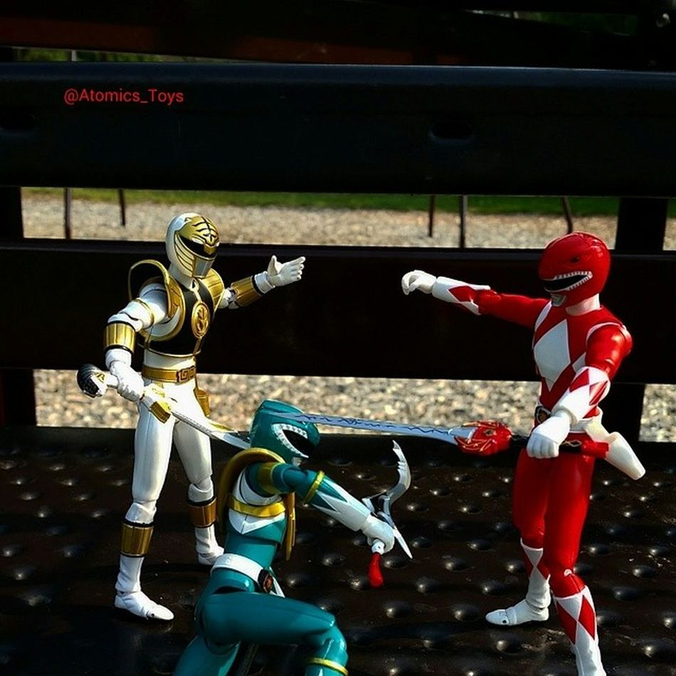 Just before the fight could take off, Whiteranger showed up to try and talk some sense into Rita's new GreenRanger . REDRANGER MMPR Toys Toyphotography Figurephotography Toyuniverse Toys4life Toyfriends Toyrevolution Toyunion Toyslagram Toygroup_alliance Toyfusion
