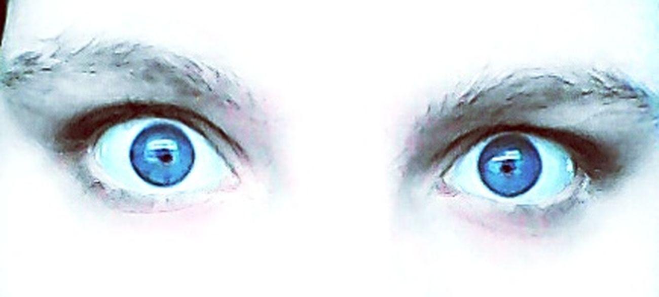 Me Myself Eyes Blue Eyes Blue Soul's Window