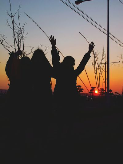 Sunset I love you guys.
