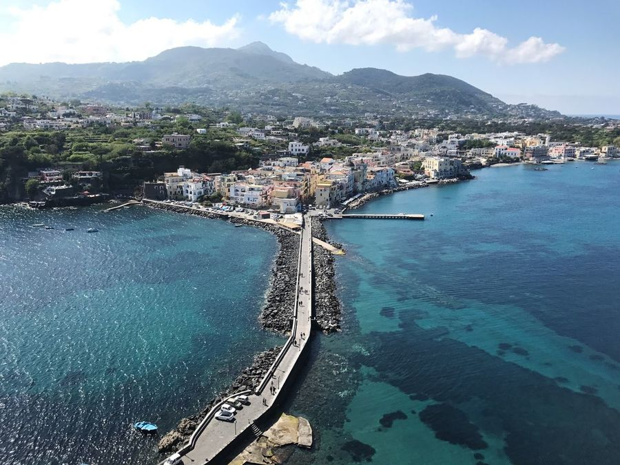 Water High Angle View Sea Travel Destinations Street View From Above View Clear Water Sea And Sky Blue Blue Sea Azurro Being A Tourist