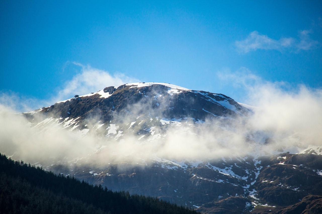 Beautiful stock photos of scotland, mountain, sky, low angle view, scenics