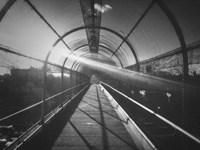 Blackandwhite Overpass Urbanism AMPt - Vanishing Point