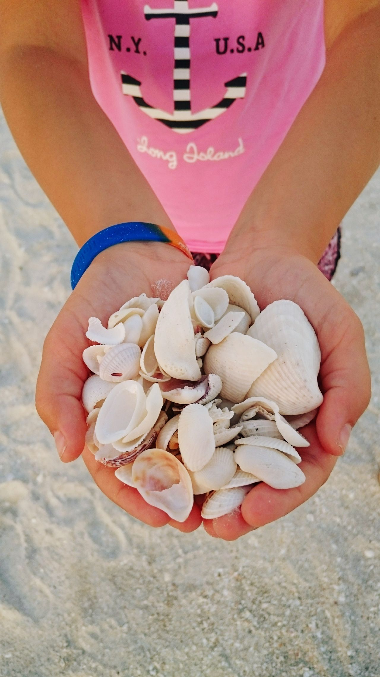 Human Body Part One Person Holding High Angle View Human Hand People Children Only Child Close-up Day Beauty Seashells Low Section Outdoors Vacationtime Sanibel Islands Sunsets
