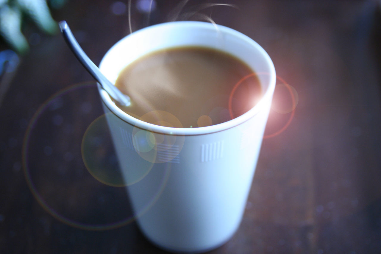 drink, refreshment, coffee cup, food and drink, indoors, freshness, close-up, no people, coffee - drink, table, tea - hot drink, day