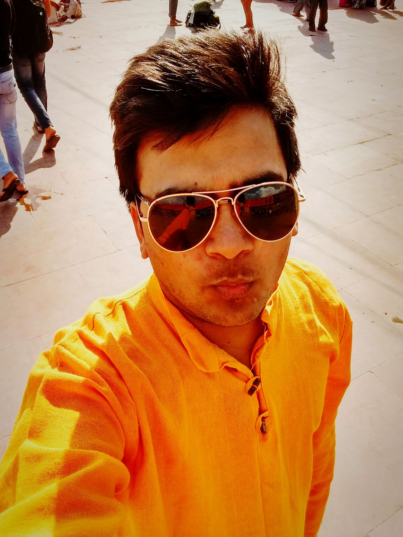 Kurta Sunglasses Sunlight Casual Clothing Summer Outdoors haridwar Rishikesh River Ganga Faces Of Summer Sunlight Sunny Day Sunglasses ✌👌 Lifestyles Leisure Activity Incidental People Beach Sand Sunlight Sunglasses Casual Clothing Vacations Young Adult Front View Looking At Camera Person