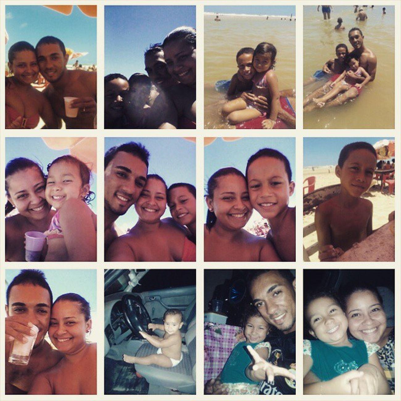 Fim de semana perfeito!!!! Só tenho a agradecer a Deus, por esta me fazendo tão feliz e realizada! ! Happy Family Amor Beach FDS Tudolindo TudoquepediraDeus