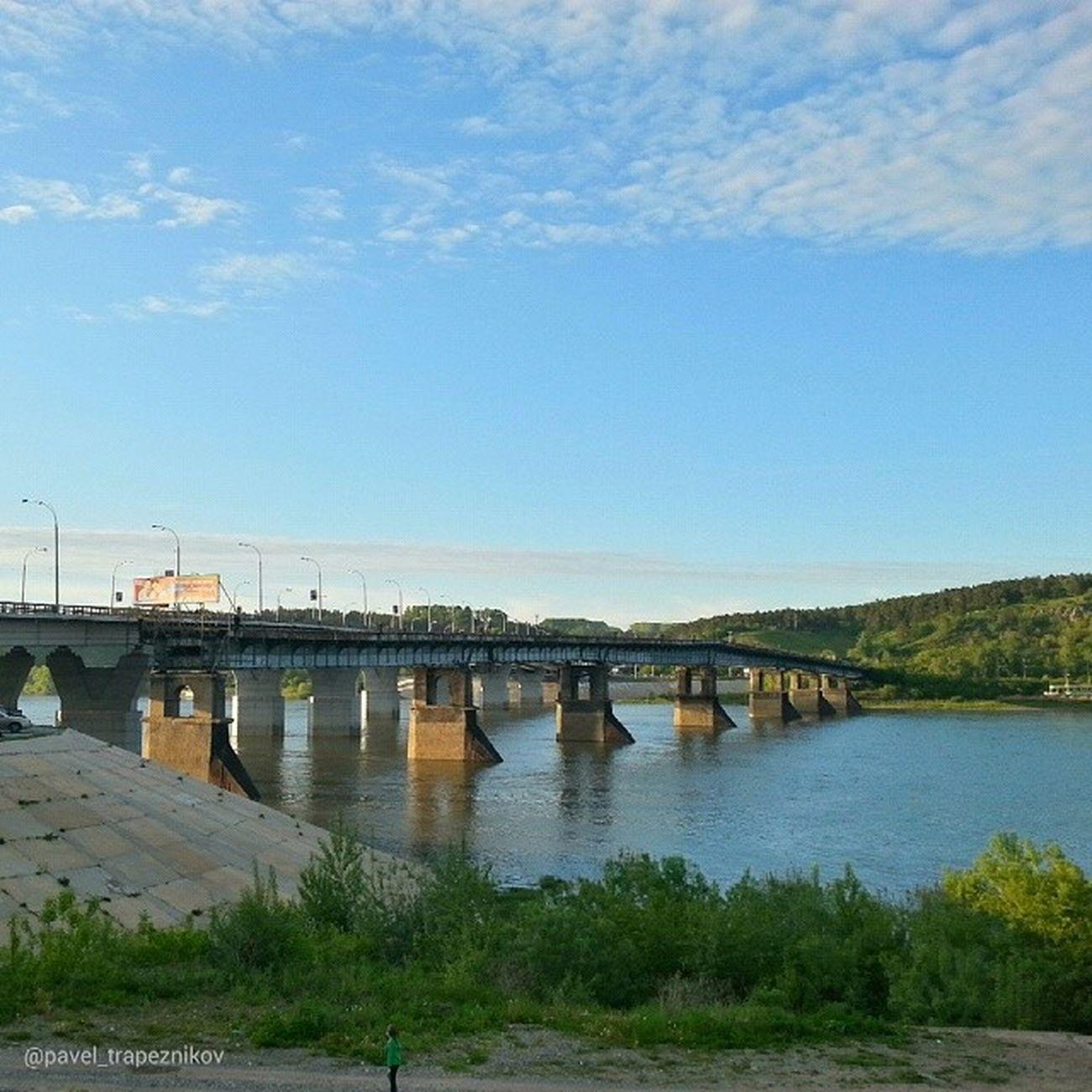 20140612 , Кемерово . кузнецкиймост / Kemerovo . Kuznetskу bridge.