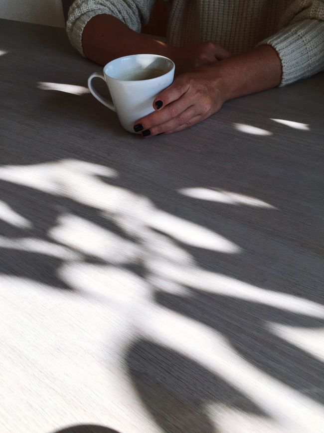 Coffee Cup Drink Food And Drink Coffee - Drink One Person Indoors  Tea - Hot Drink Holding Refreshment Human Hand Lifestyles Cup Tea Cup Real People Healthy Lifestyle Table Human Body Part Adults Only Freshness Healthy Eating