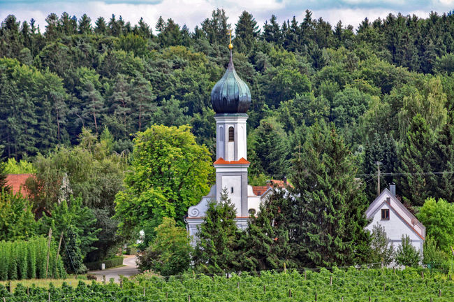 church of pilgrimage at lohwinden near wolnzach Architecture Building Exterior Built Structure Cathedral Church Church Church Of Pilgrimage Day Dome History Low Angle View Outdoors Pilgrimage Church Place Of Worship Religion Spirituality