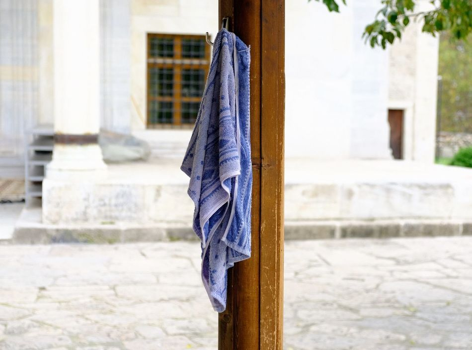 Architecture Building Exterior Built Structure Close-up House No People Still Life StillLifePhotography Towel Towelday
