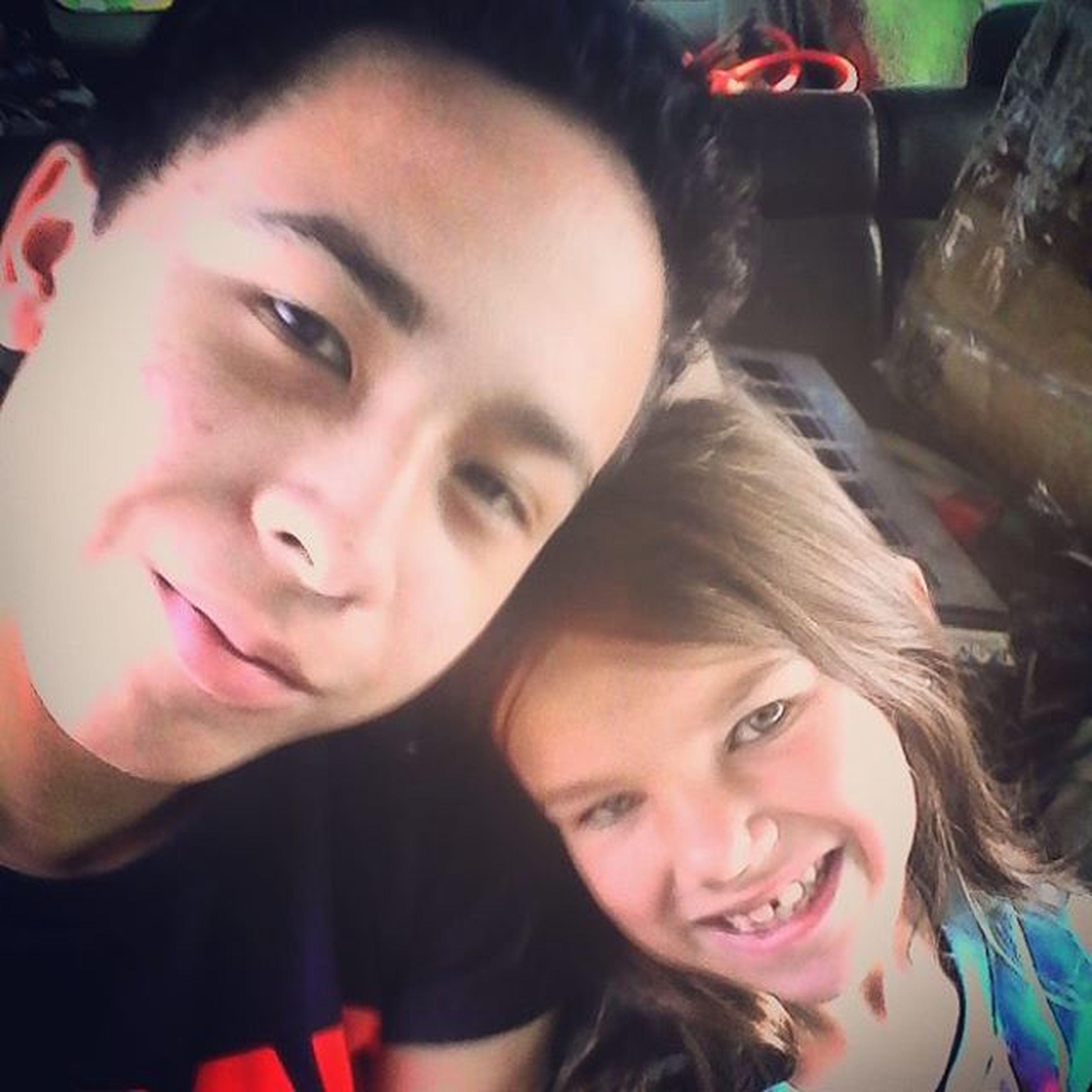 With my Lil Cuz 🐴☺🏰 Shechosetheemojis