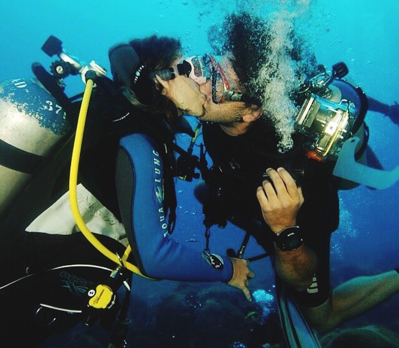 Underwater love Scubadive