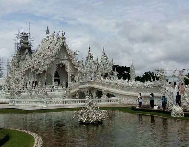 White Temple Chiang Rai, Thailand No Edit/no Filter Travel Photography Hello World