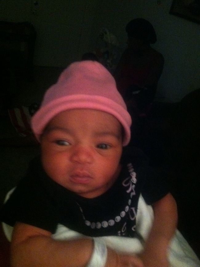 My Lil Sweetheart Rite Here