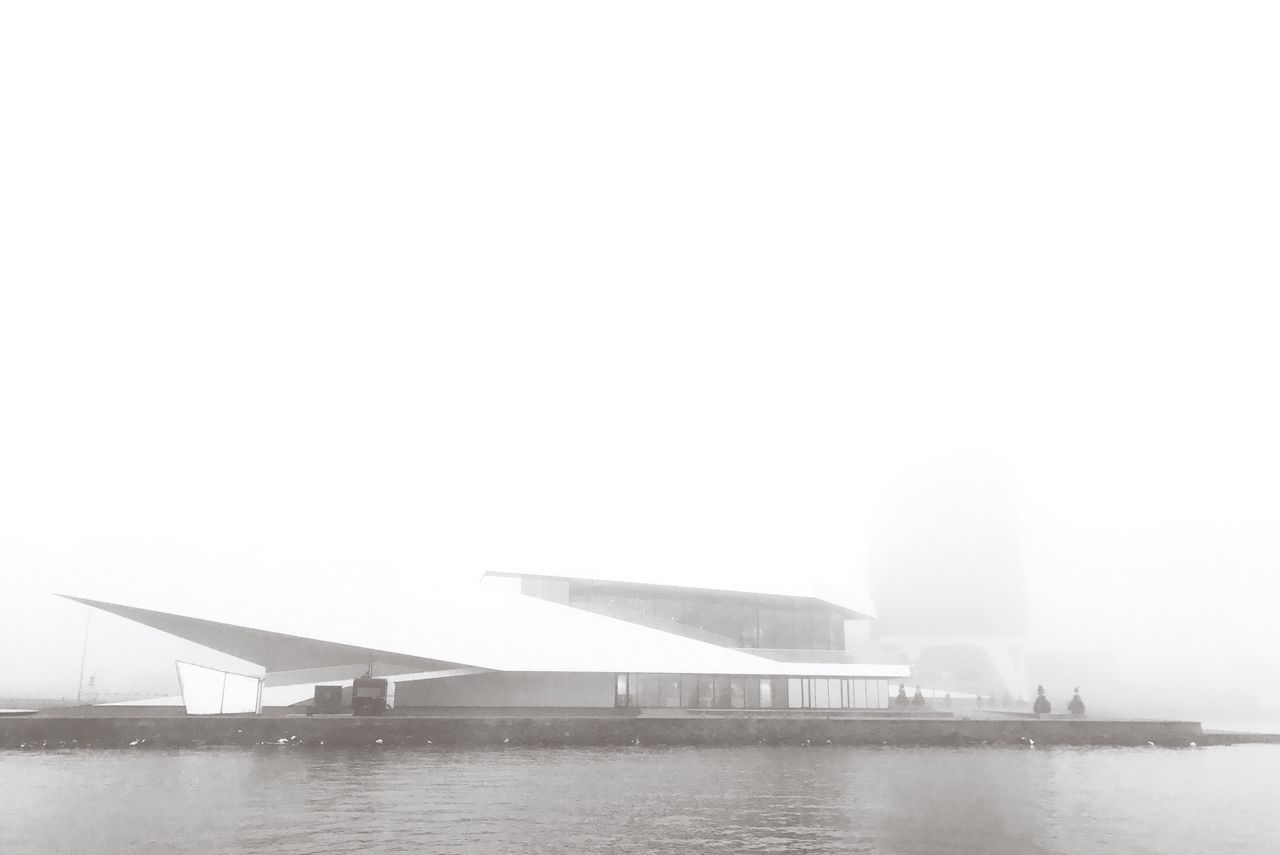 Architecture Water Built Structure Fog