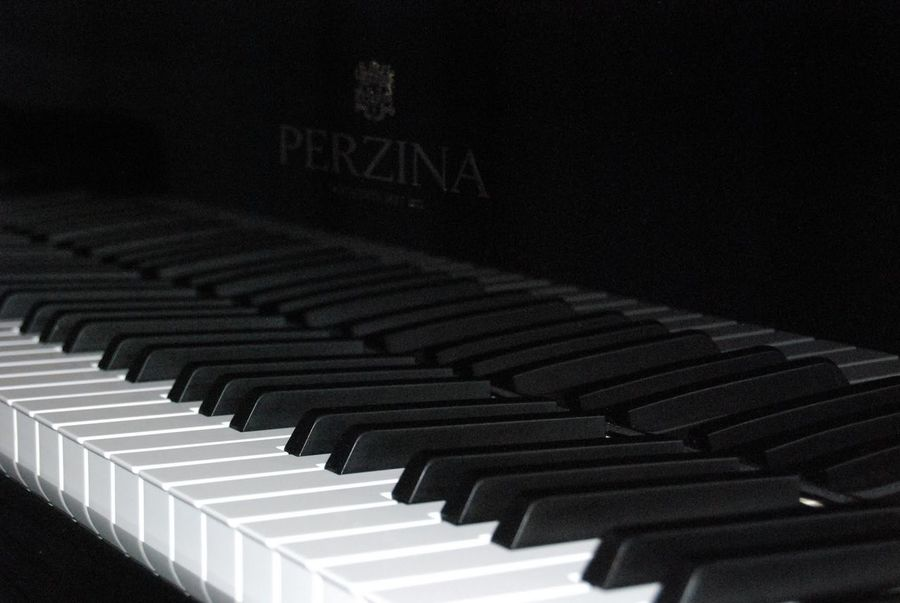 And here is the classic shot of the keys. Piano Hendersonville,NC DSLR Piano Keys The Purist (no Edit, No Filter)
