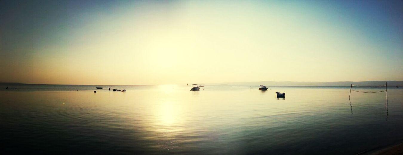 Saroz Mavi Deniz Günbatımı Saroz Korfezi