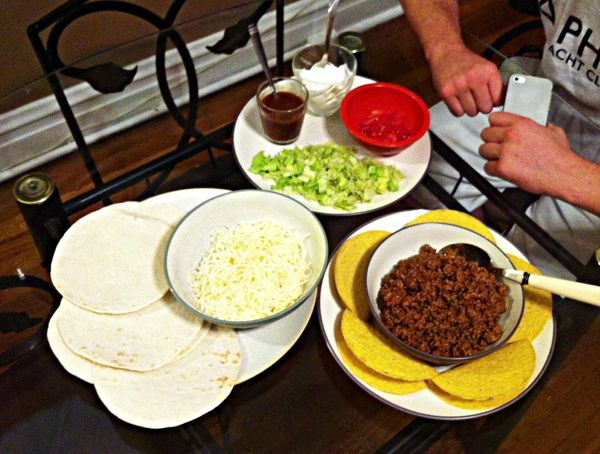 Food Tacos Kissthecook Yummy