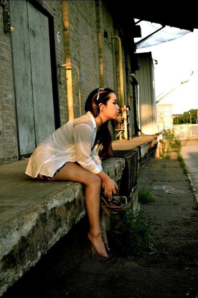Sunset Legs Photo Session My City