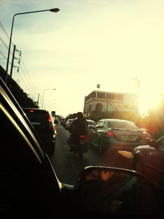 Traffic Jam Thailand's Only