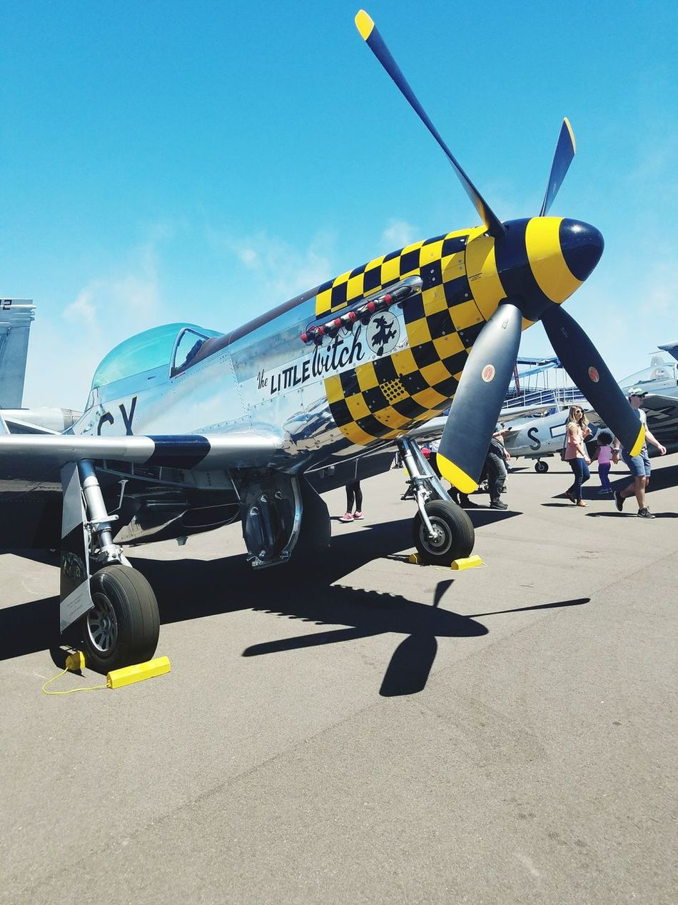 Airplane Military Transportation Air Vehicle Day Fighter Plane Aerospace Industry Outdoors Air Force One Person Airshow People