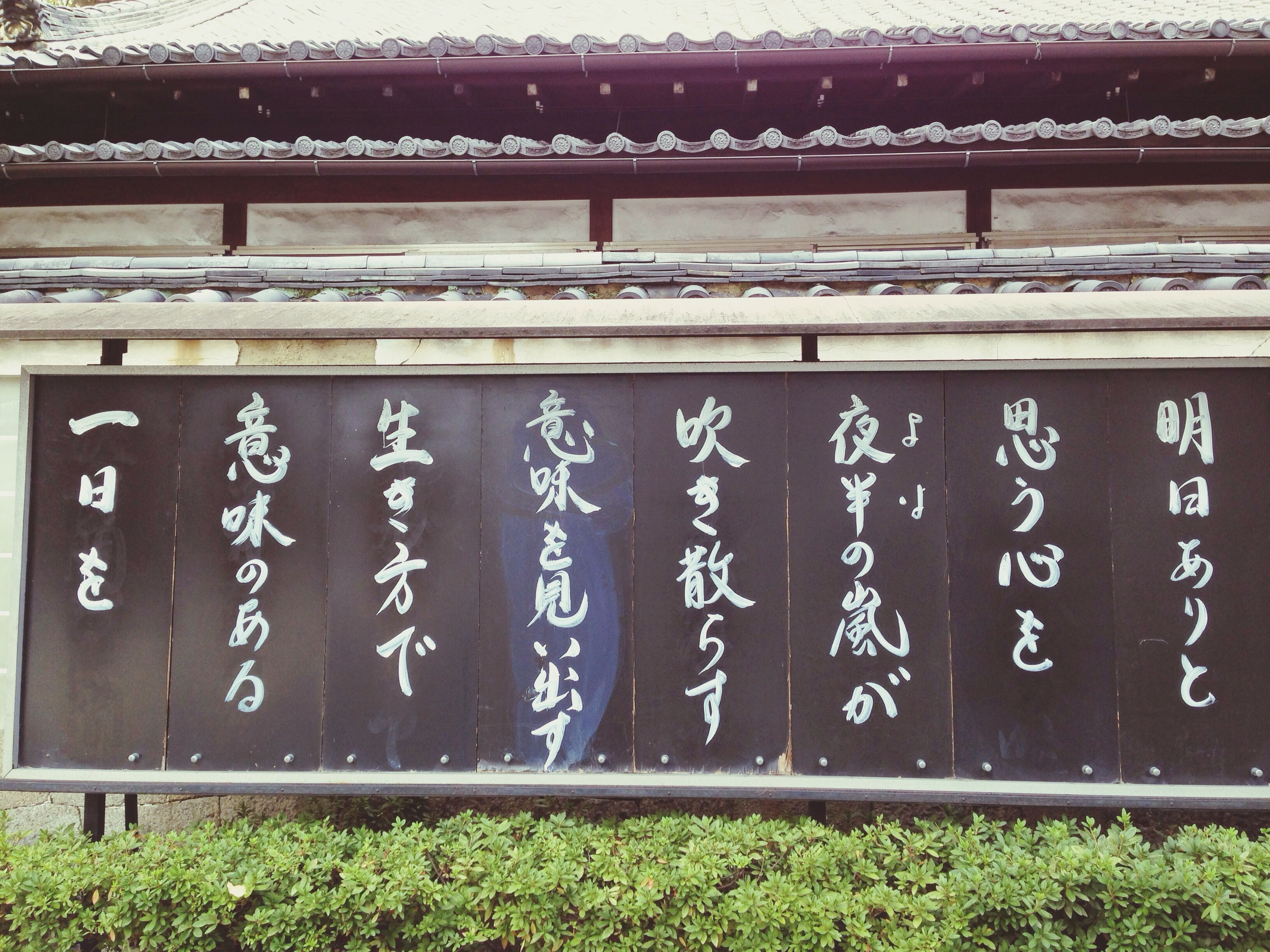 text, built structure, architecture, graffiti, western script, door, wall - building feature, building exterior, communication, closed, entrance, non-western script, gate, wall, day, outdoors, house, no people, capital letter, safety