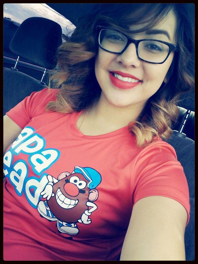 Softball Papaheads Redlipstick♥ Smile ✌ smile