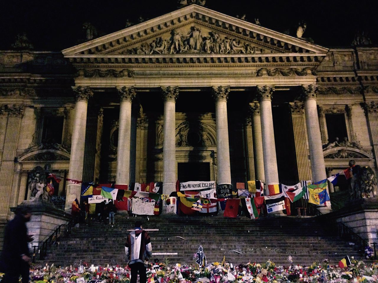 La Bourse Not In My Name Brussels