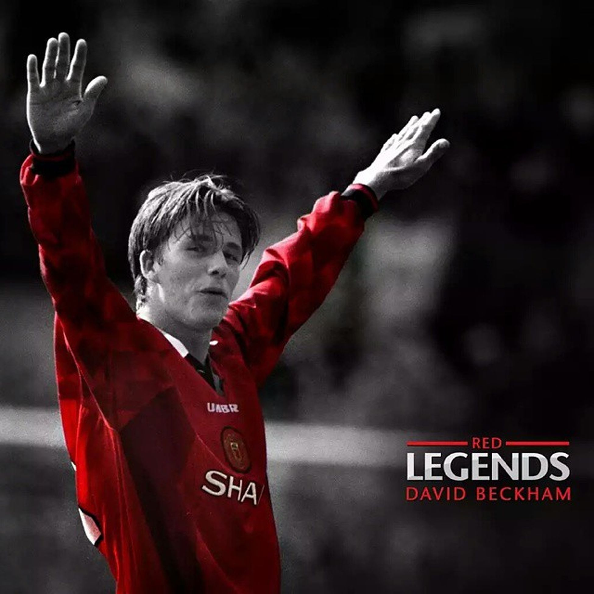 Happy Birthday David Beckham!! Football's original superstar GGMU DB40