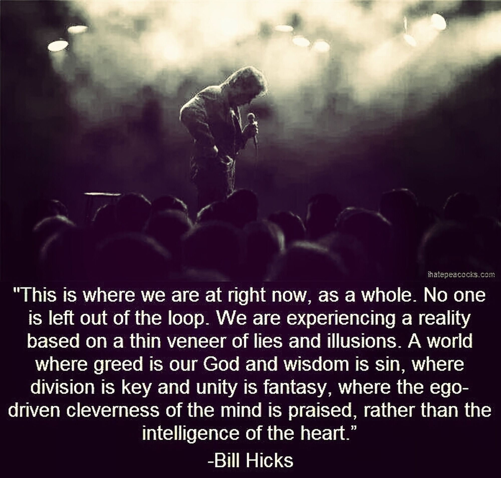 The wonderful Bill Hicks Bill Hicks Comedian Truther Open Your Mind