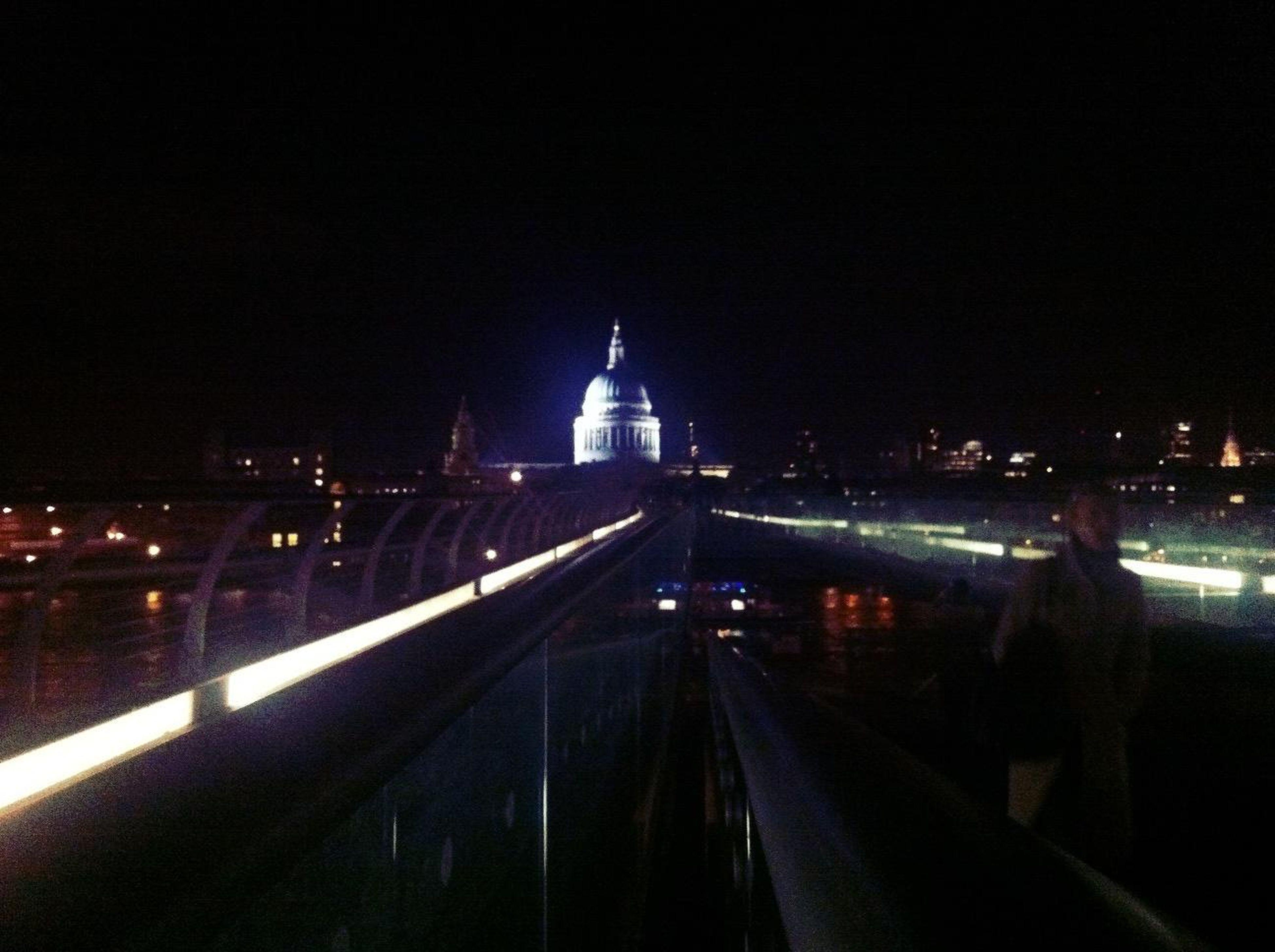 Amazed at Millennium Bridge Southside Amazed