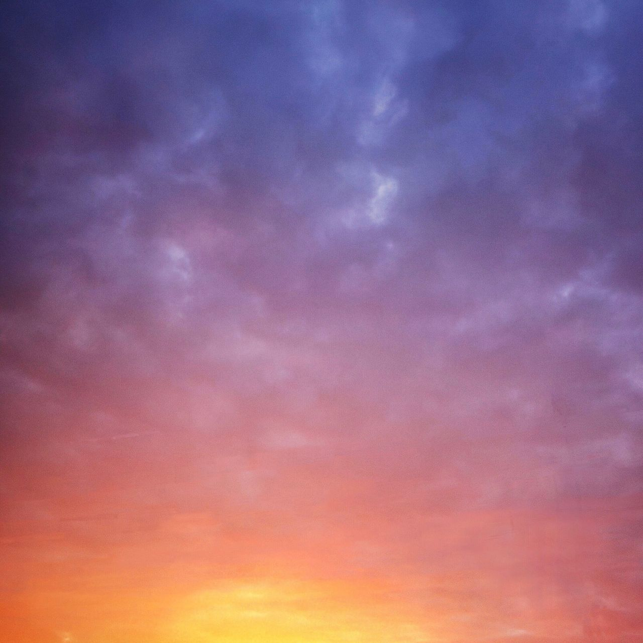 Sky Beauty In Nature Sunset Sunrise Gradient Vibrant Color Color