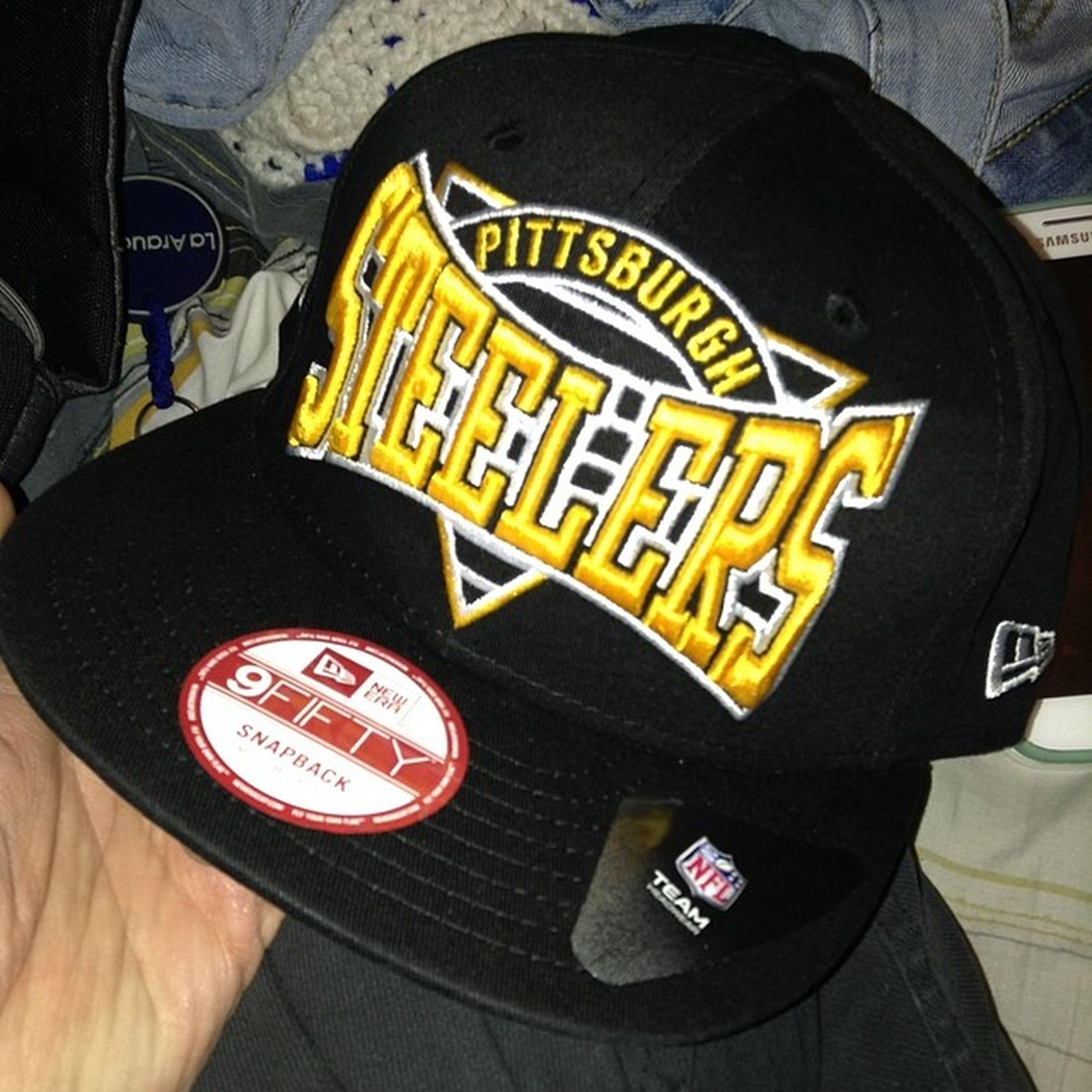 My New Snapback NewEra Original 9Fifty NFLTeam NFL Team Pitsburg Steelers