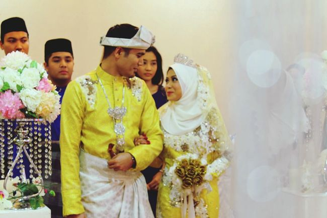 That us on our big day ?? Kenduri Kahwin Shah Alam