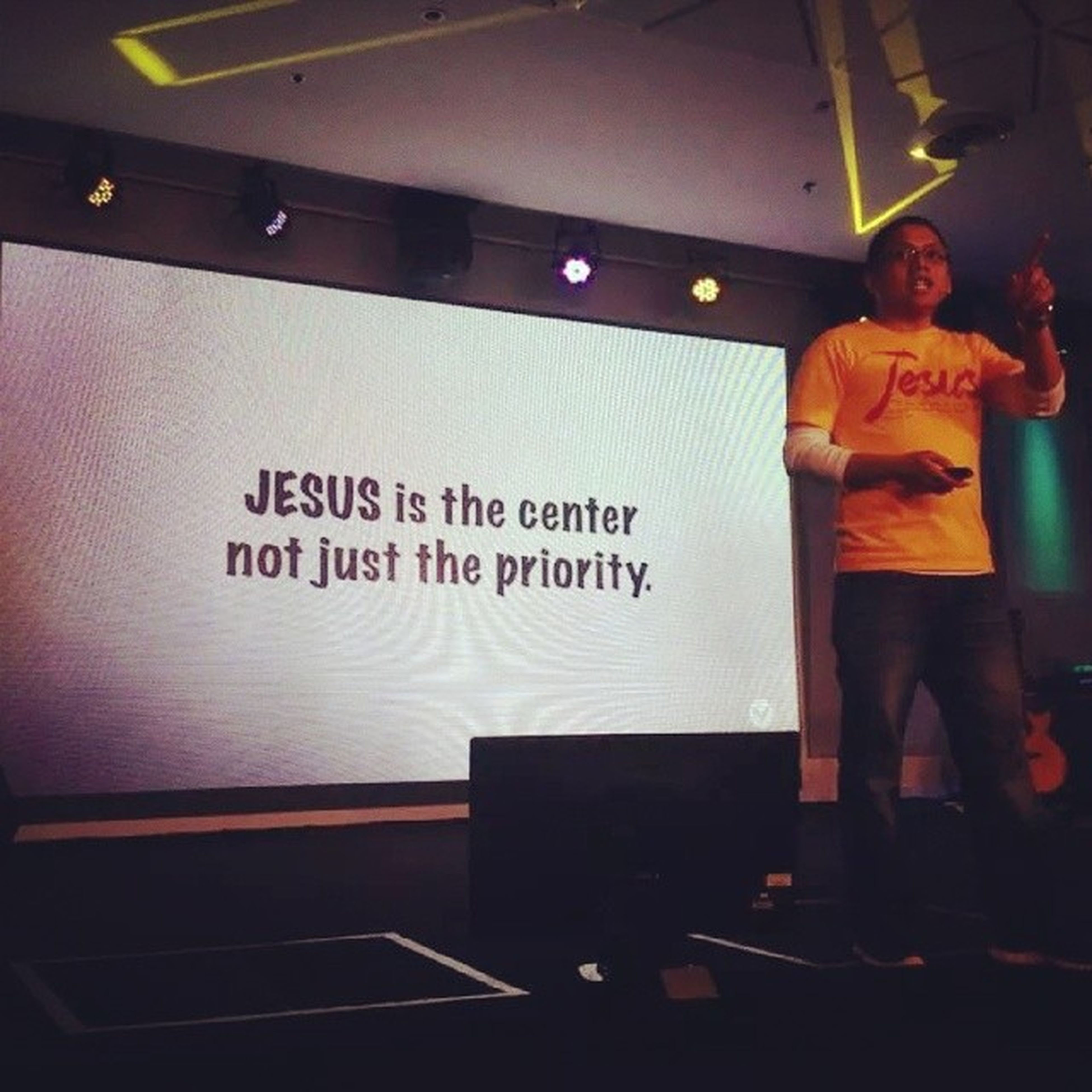 Jesus is the Center, not just the Priority. VictoryPioneer Radicalsince1984 CourtesyOfPtrChristian