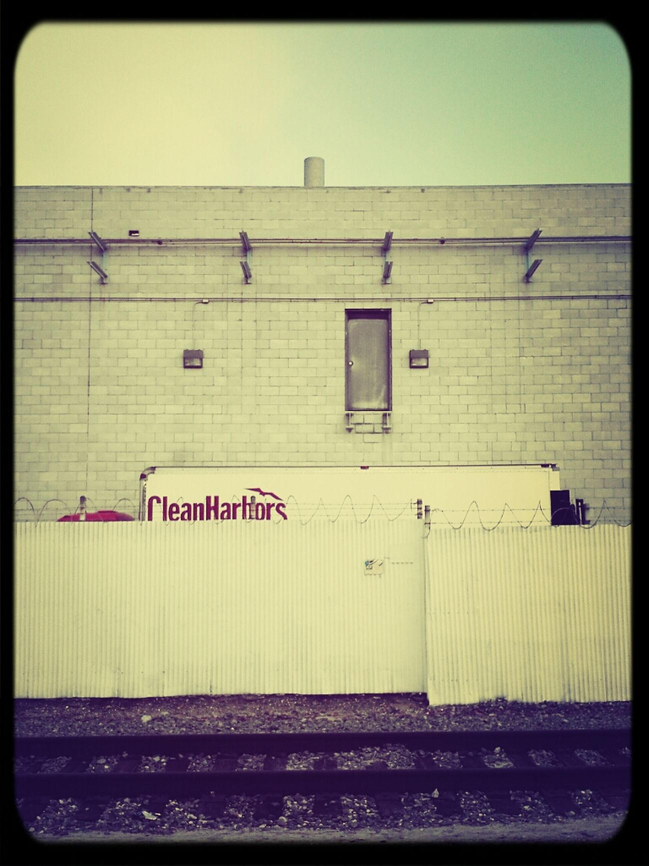 ·from train to truck to your front door, it'll arrive· Door Fotodroiding Droidography Industrial Android Train Tracks Shootermag Downtown