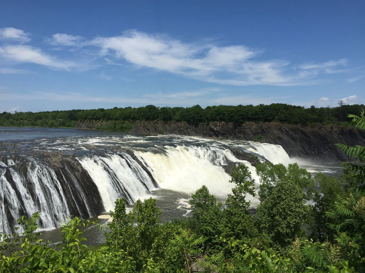 Cohoes Falls Cohoes New York