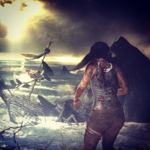 Tomb Raider Nowplaying PC Game TPS IPhoneography Iphoneonly Gamer
