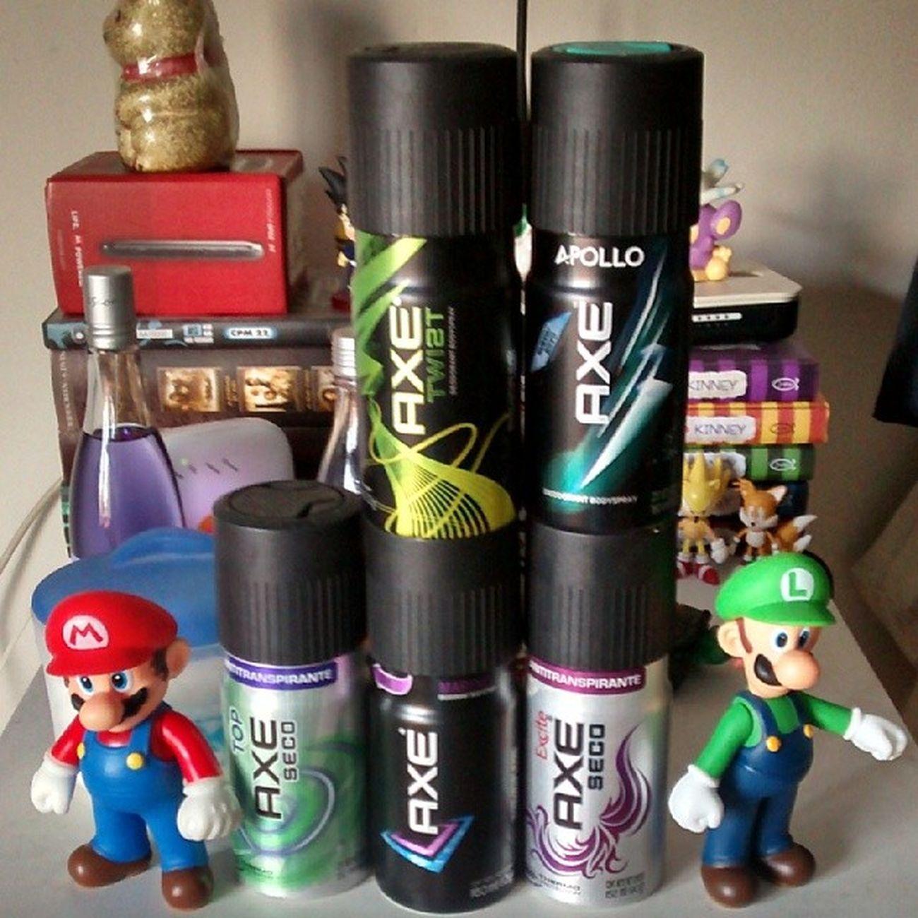 Coleção de Desodorante Axe HAUHAUHAUHAUHAU