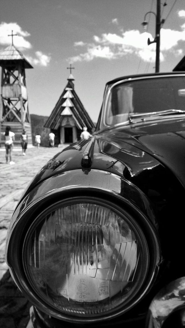 In Serbia Car Black & White Church EyeEm Best Shots EyeEm Germany