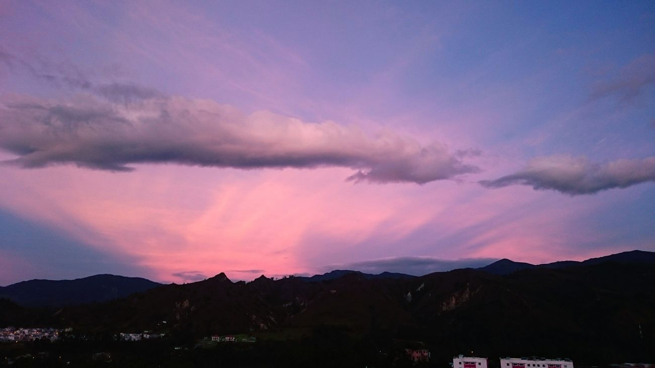 Sunset Taking Photos Relaxing Enjoying Life Hanging Out Violeta Azul Loja, Ecuador Loja