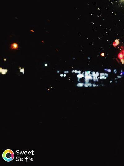 Night City Rainy Days