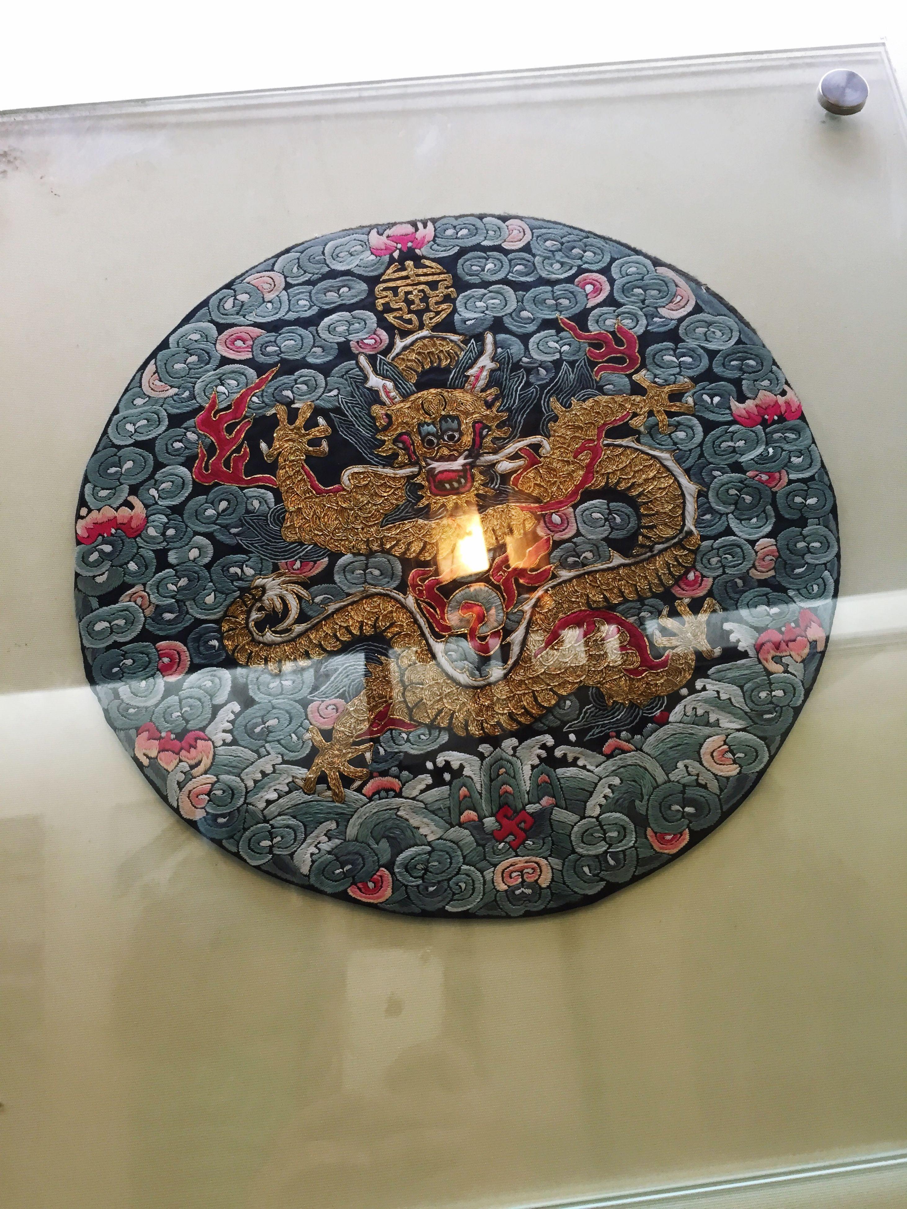 indoors, circle, pattern, art and craft, multi colored, design, creativity, decoration, art, ceiling, illuminated, low angle view, geometric shape, ornate, shape, close-up, no people, lighting equipment, celebration, religion